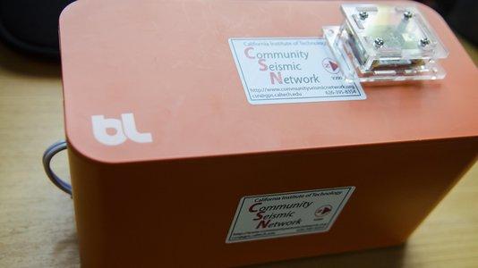 社区地震网络(CSN)传感器