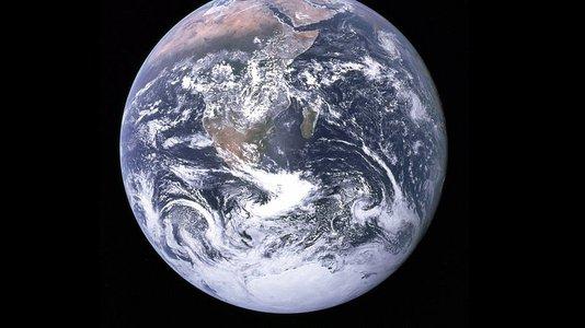 地球从太空