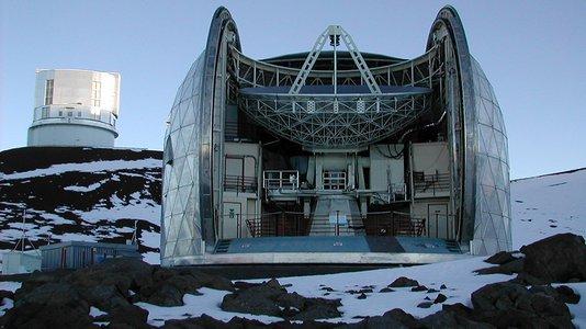 koko体育的亚毫米天文台