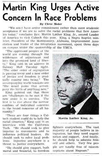 MLK article