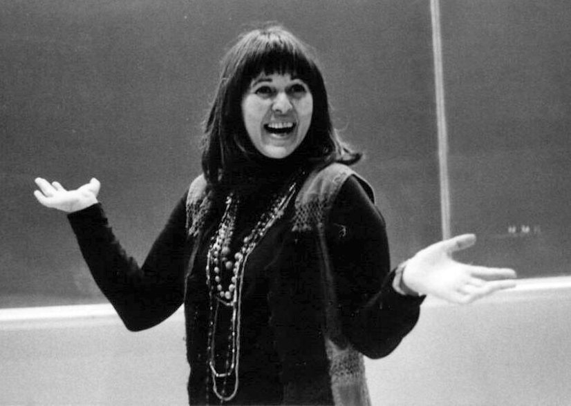 Shirley Marneus, directing the 1979 production of The Music Man.