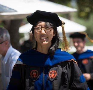 Caltech's PhD regalia