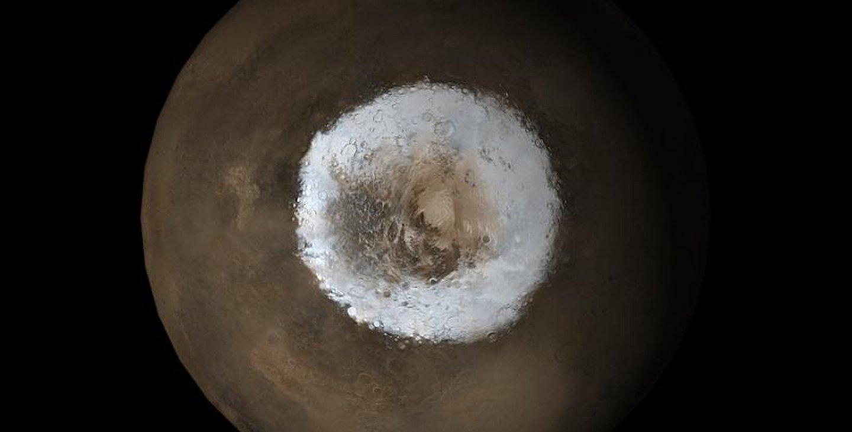 Mars Pole