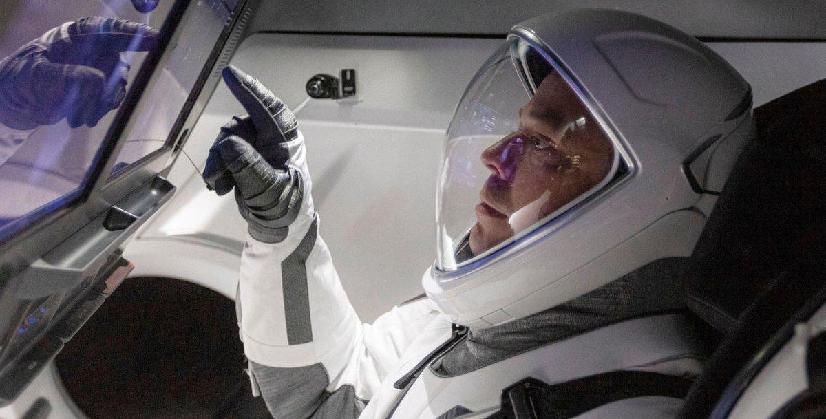 NASA astronaut and Caltech alumnus Robert Behnken
