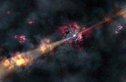 Gamma ray burst
