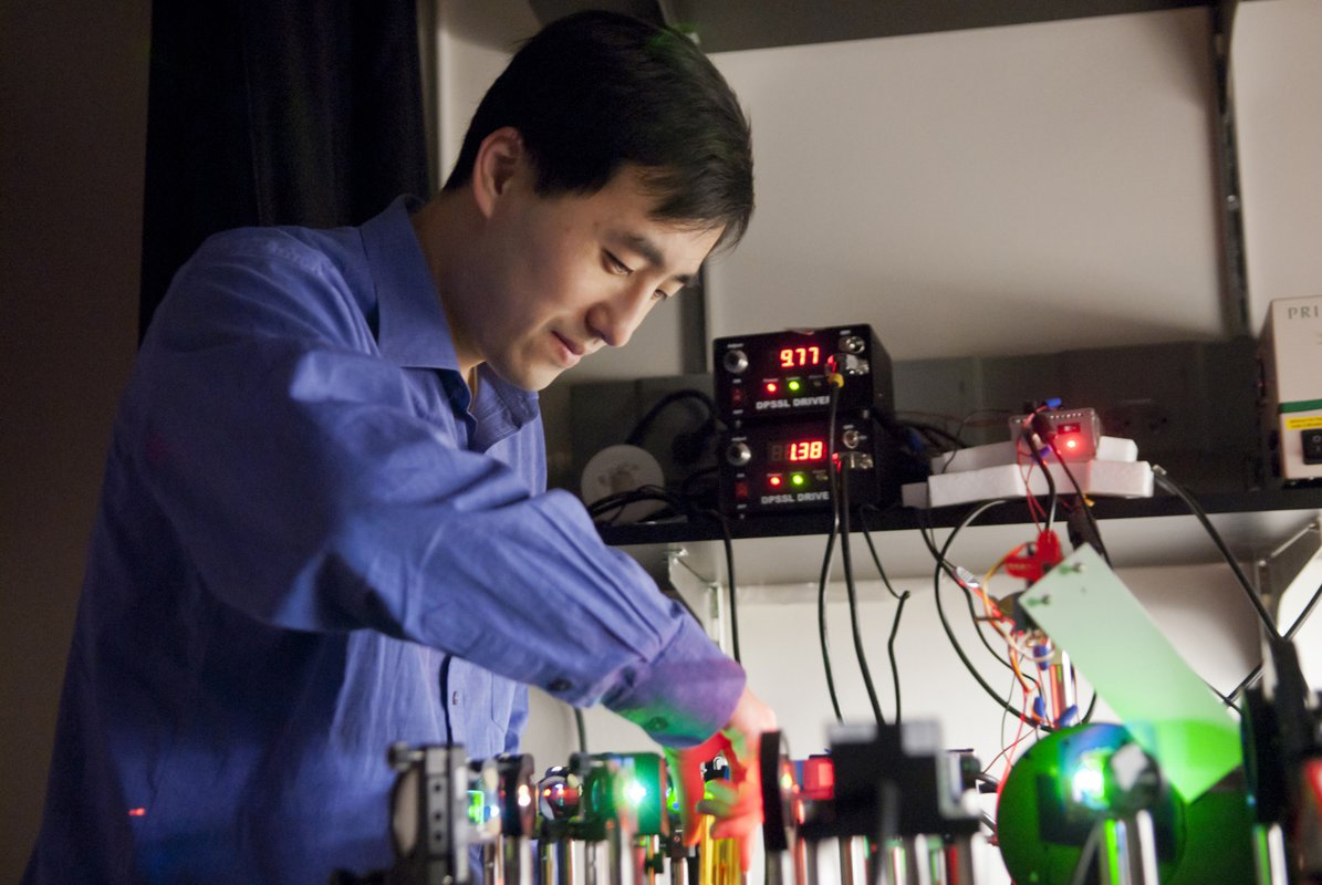 Long Cai, professor of biology and biological engineering