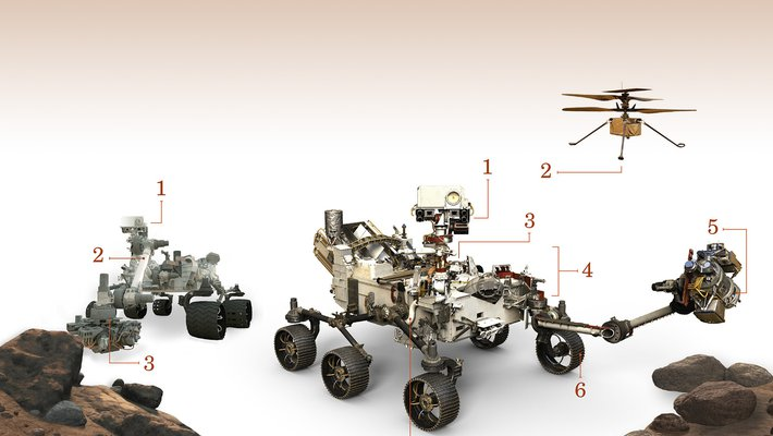 Mars rover images
