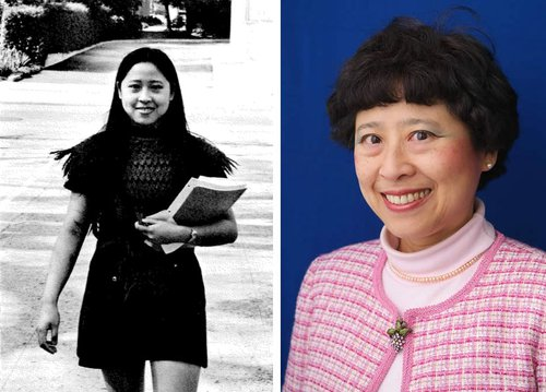Deborah Chung, then and now