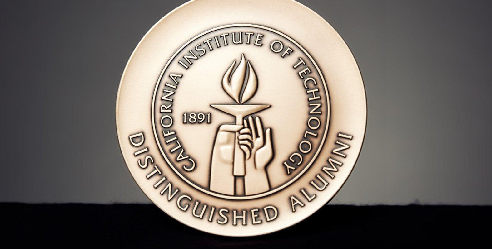 Distinguished Alumni Award Medal