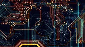 colorful circuit board