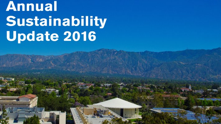 The annual report details the goals, successes, and challenges facing the Institute in terms of sustainability.