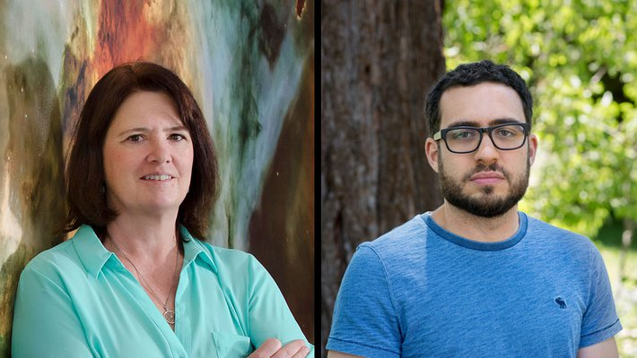 Fiona Harrison and Fernando Brandão