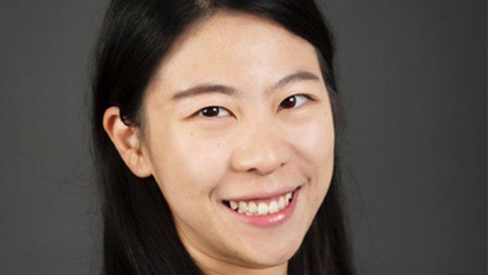 Caltech C Fellow Yujia Huang smiling in close-up