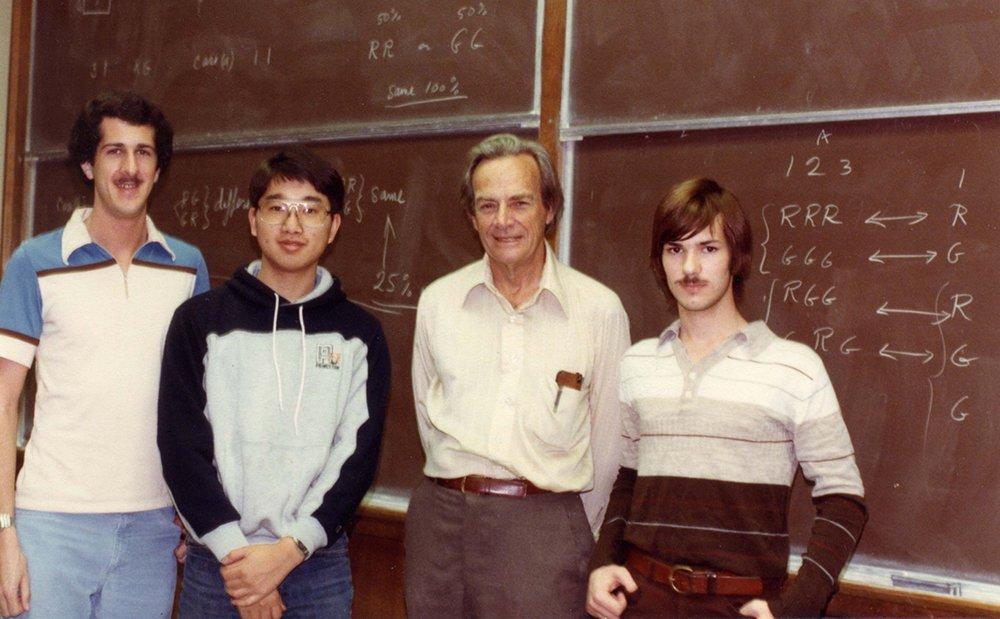Luke, Feynman, and others.