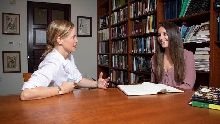 Jennifer Jahner and Amy Windham