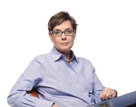 A portrait of Diana Kormos Buchwald