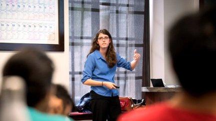 Caltech grad student Kelsey Boyle