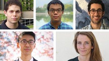 Caltech Kortschak Scholars for 2020