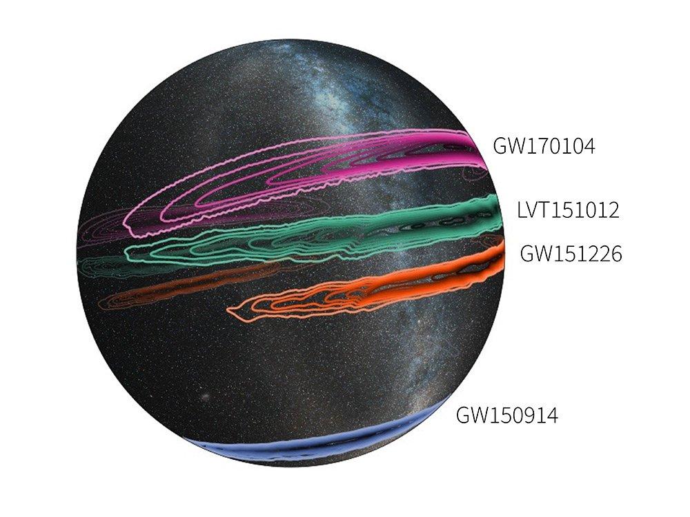 LIGO localization map