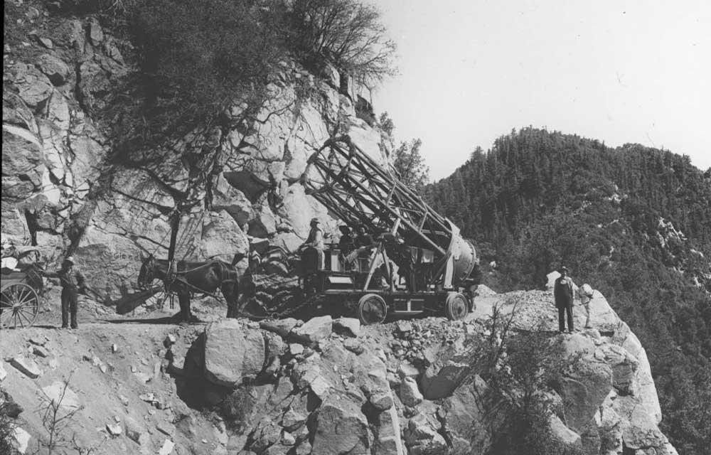 The 60-inch telescope tube