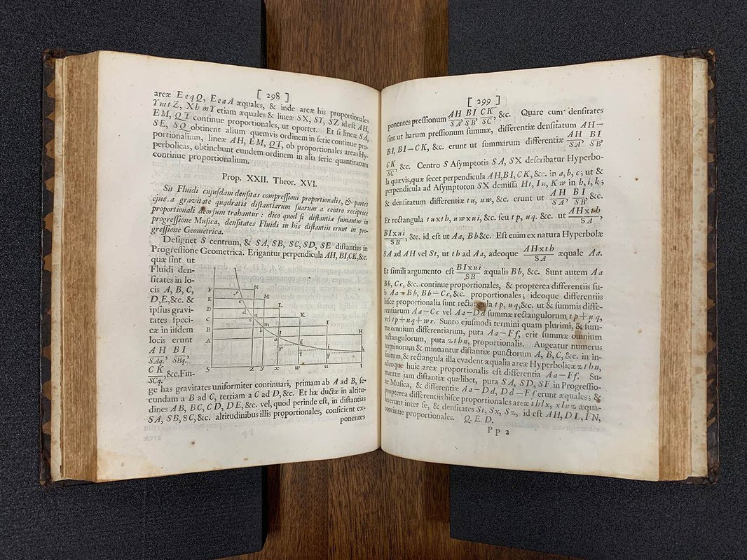 Caltech's copy of the Principia