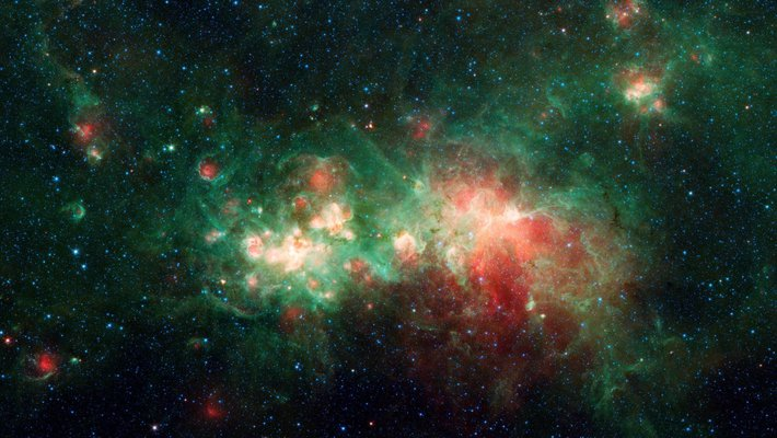 Image of W51 nebula
