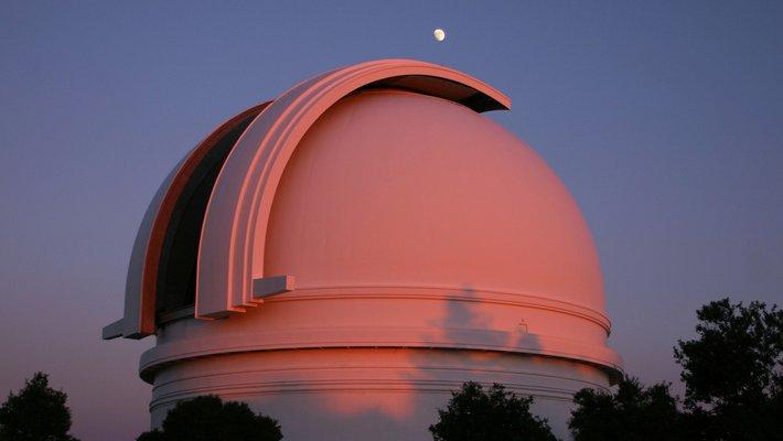 Palomar's 200-inch Hale Telescope.