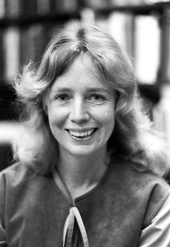 A black-and-white portrait of Jane Raymond