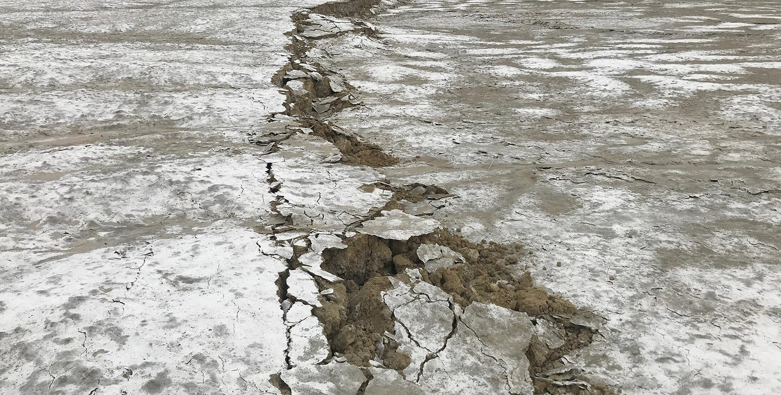 Ridgecrest Quake fault