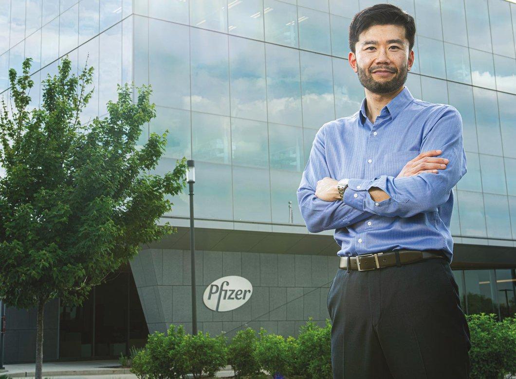 Caltech alumnus Satoshi Ohtake