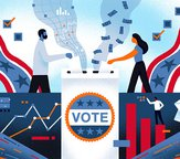graphic of voting images