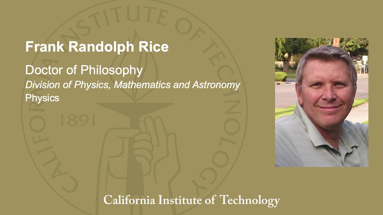 Frank Randolph Rice