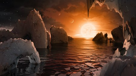 image of the surface of TRAPPIST-1f