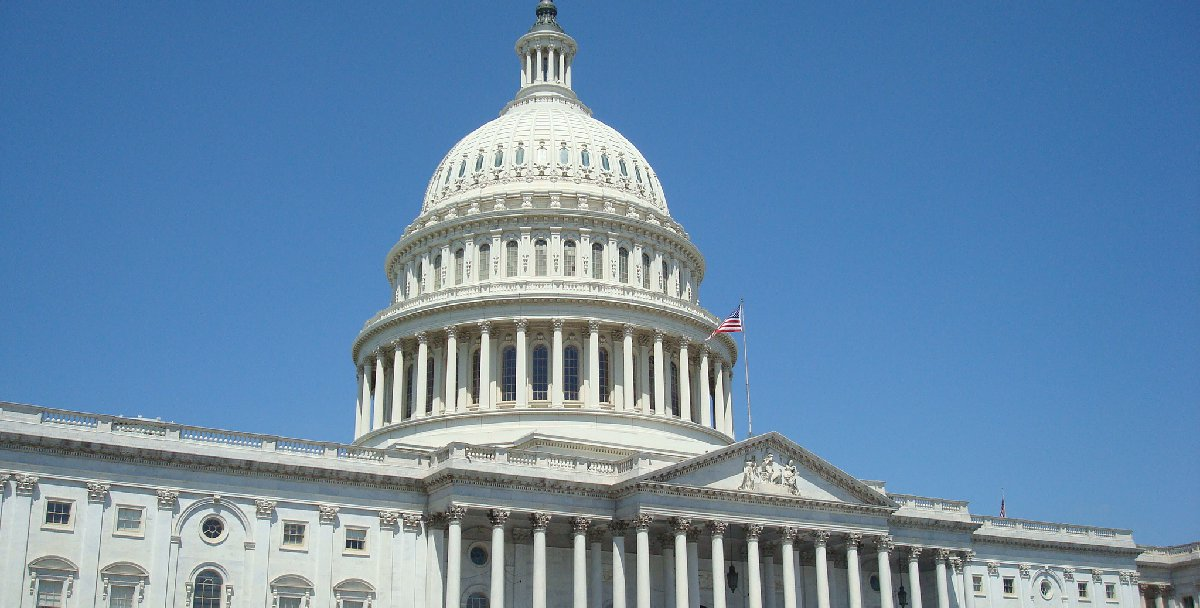 A photo of the United States Capitol Building