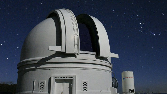 Photo of the 48-inch Samuel Oschin Telescope
