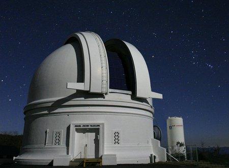 Photo of the 48-inch Samuel Oschin Telescope