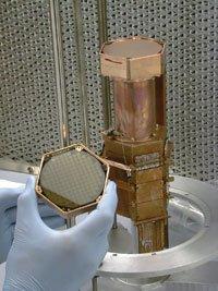 Cryogenic Dark Matter Search (CDMS) detector